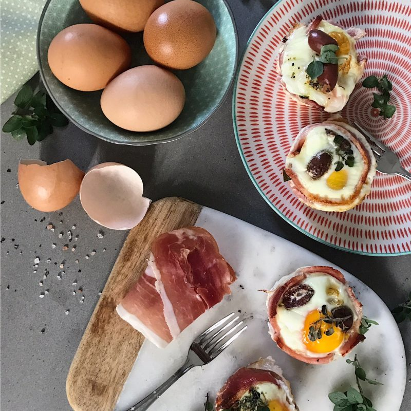 Egg & Prosciutto Cups